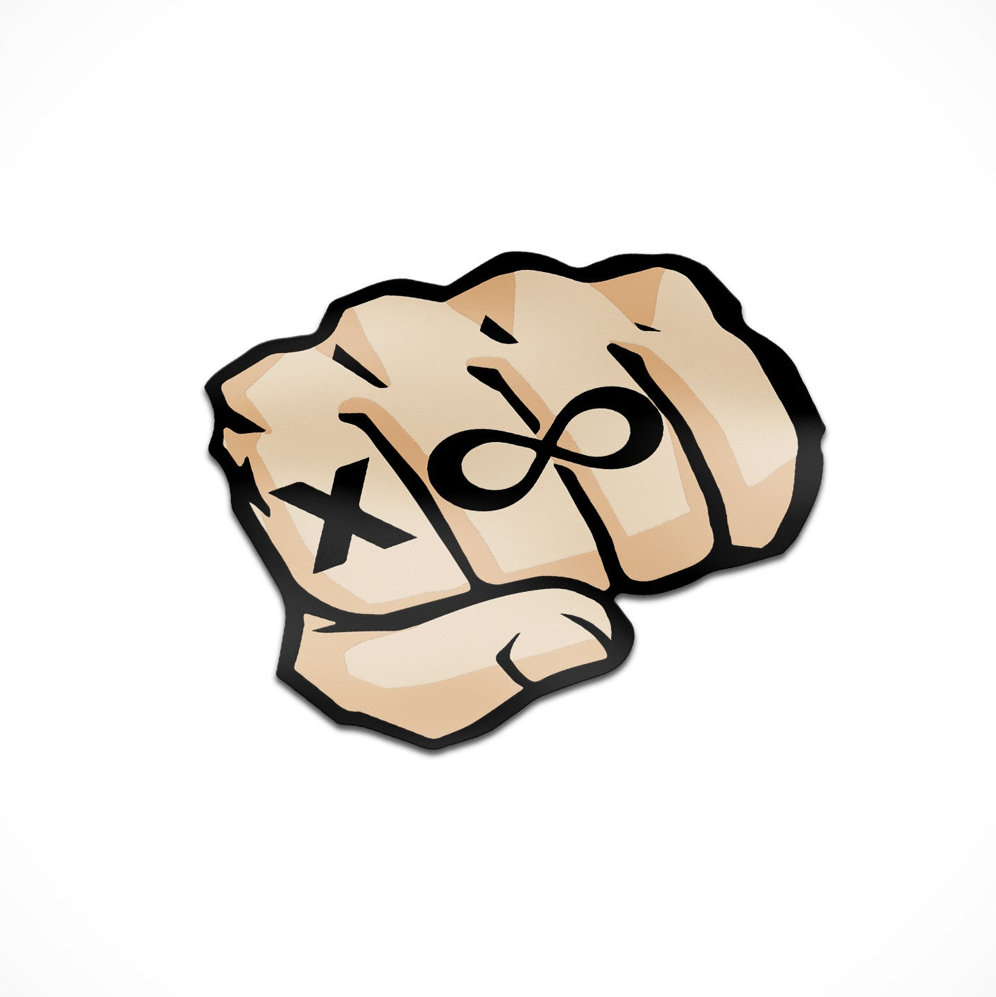 The Kleb Fist Bump Sticker