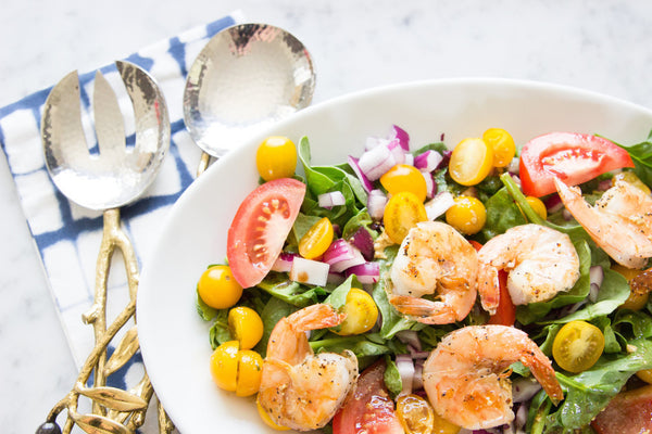 Grilled Shrimp Spring Salad