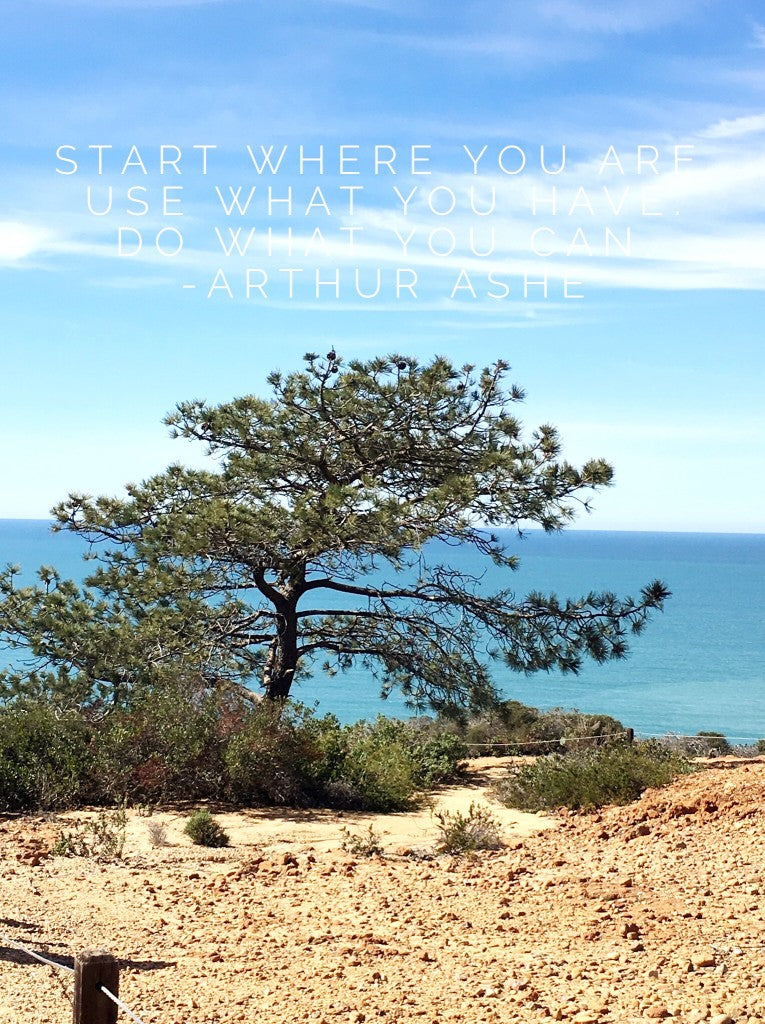 Start where you are,,,