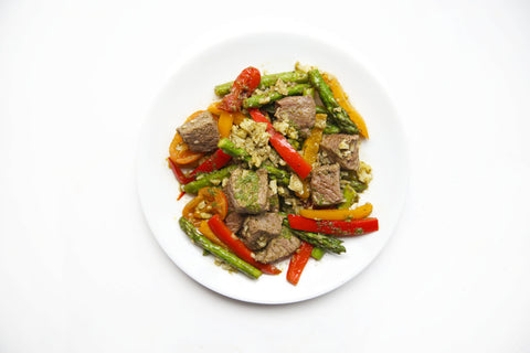 Chimichuri Steak Skillet