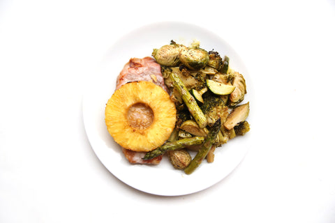 Pineapple Teriyaki Pork Chop