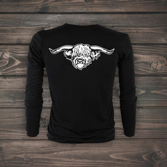 Highland Steer Long Sleeve T