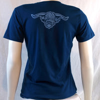 Ladies Highland Steer T