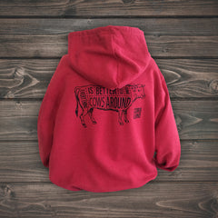 Cows Around Zip-Up Hoodie (2 colo(u)rs available!)