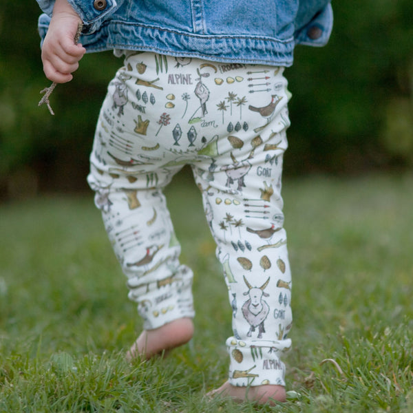 Billy Goat Organic Baby Leggings