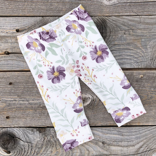 Autumn Meadow Organic Leggings