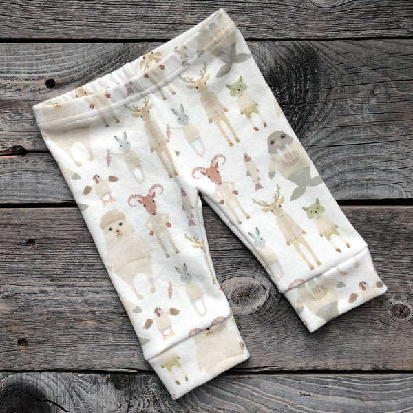 Arctic Animal Organic Leggings