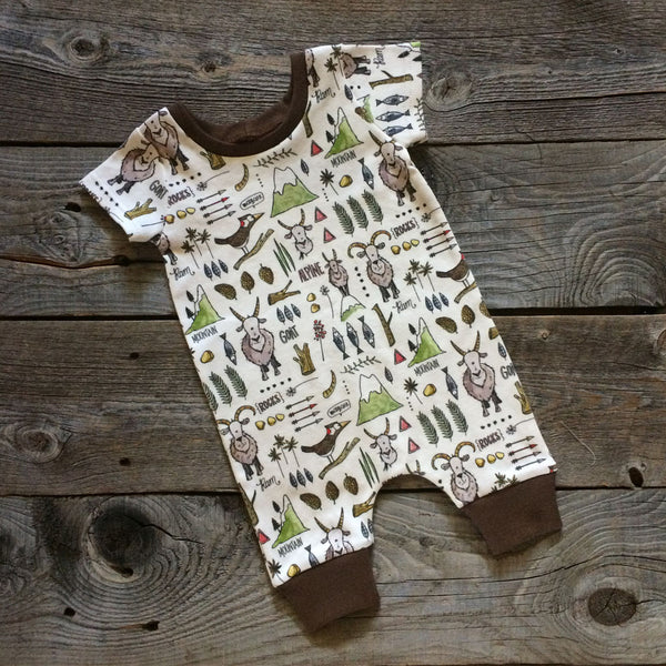 Billy Goat Organic Romper