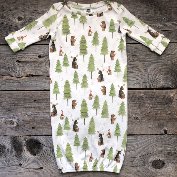 Camp Song Organic Cotton Gown