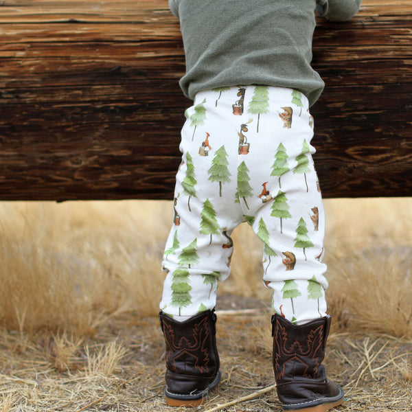 Camp Song Organic Baby Leggings