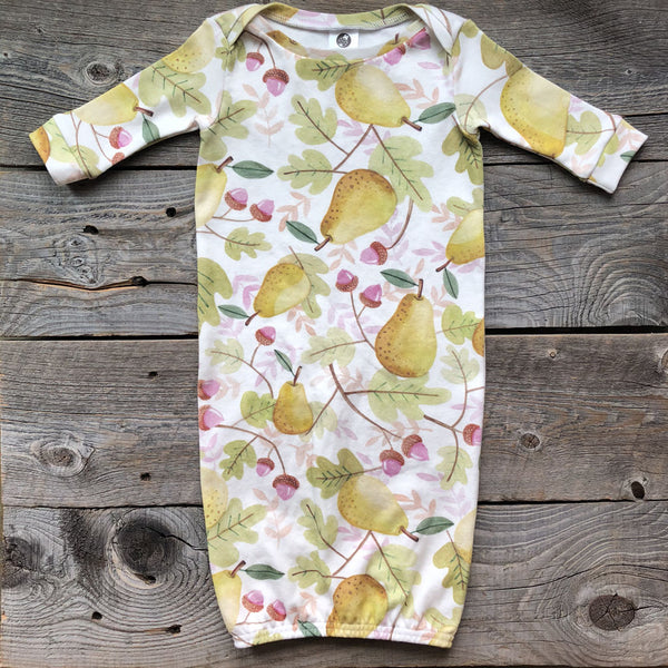 Fall Pear Organic Gown