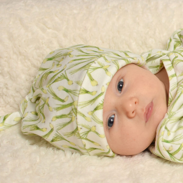 Green Onion Organic Baby Hat