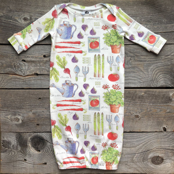 Garden Organic Cotton Gown
