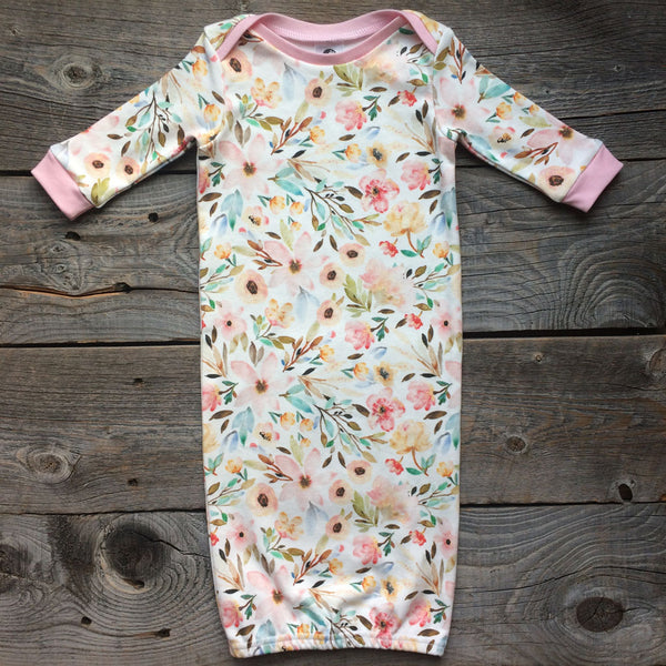 Mae Organic Cotton Gown