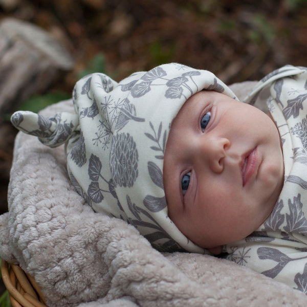 Nature Walk Organic Knotted Baby Hat