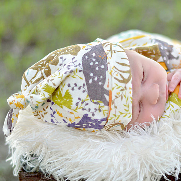 Spirit of Fall Knotted Baby Hat