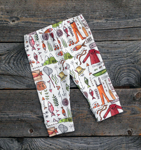 Mountain Catch Organic Baby Leggings