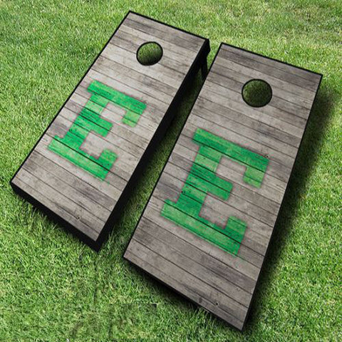 Eastern Michigan Eagles Cornhole Boards Distressed Wood – Cornhole ...