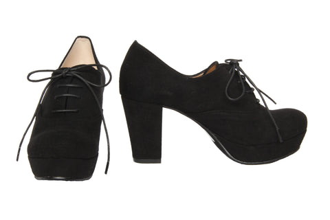 Jelly Beans - Lace-Up Booties (Black)
