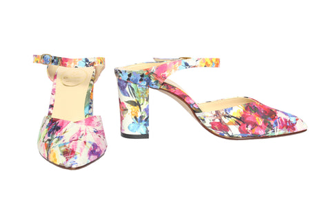 Le Chione - Pointy Slip-On (Floral)