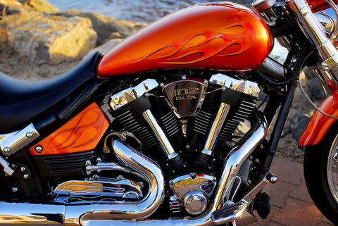 motorcycle bike paint custom personalisation
