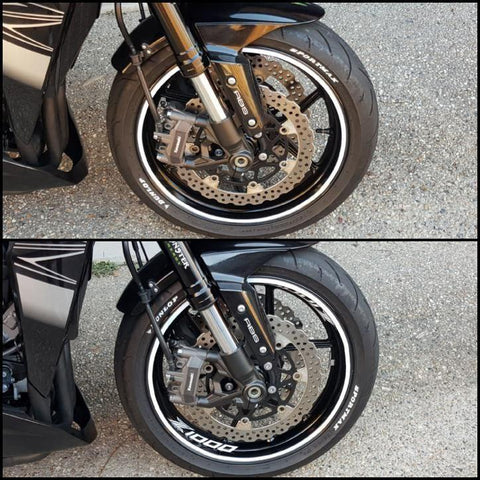 Personalizing Motorcycle Rim Stickers Vinyls Stickman
