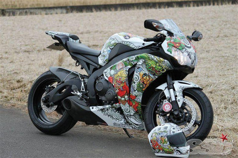 custom bike wrap
