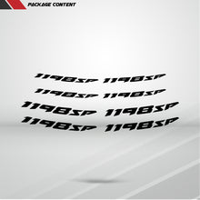 Load image into Gallery viewer, Dual Pack Inner Rim Tape Sticker Decal for Ducati 1198sp