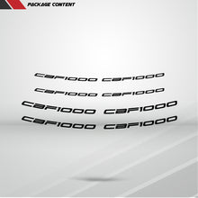 Load image into Gallery viewer, Dual Pack Inner Rim Tape Sticker Decal for Honda CBF 1000
