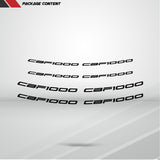 Dual Pack Inner Rim Tape Sticker Decal for Honda CBF 1000