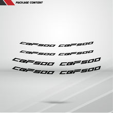 Load image into Gallery viewer, Dual Pack Inner Rim Tape Sticker Decal for Honda CBF 500
