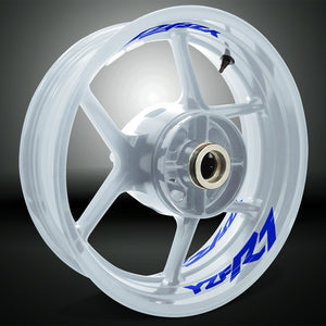 Dual Pack Inner Rim Tape Sticker Decal for Yamaha YZF R7