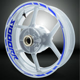 BMW S1000RR Motorcycle Rim Wheel Decal Accessory Sticker