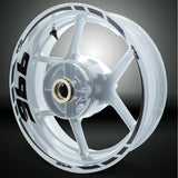 Motorcycle Rim Wheel Decal Accessory Sticker for Ducati 996