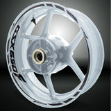Motorcycle Rim Wheel Decal Accessory Sticker for Suzuki GSX 650F