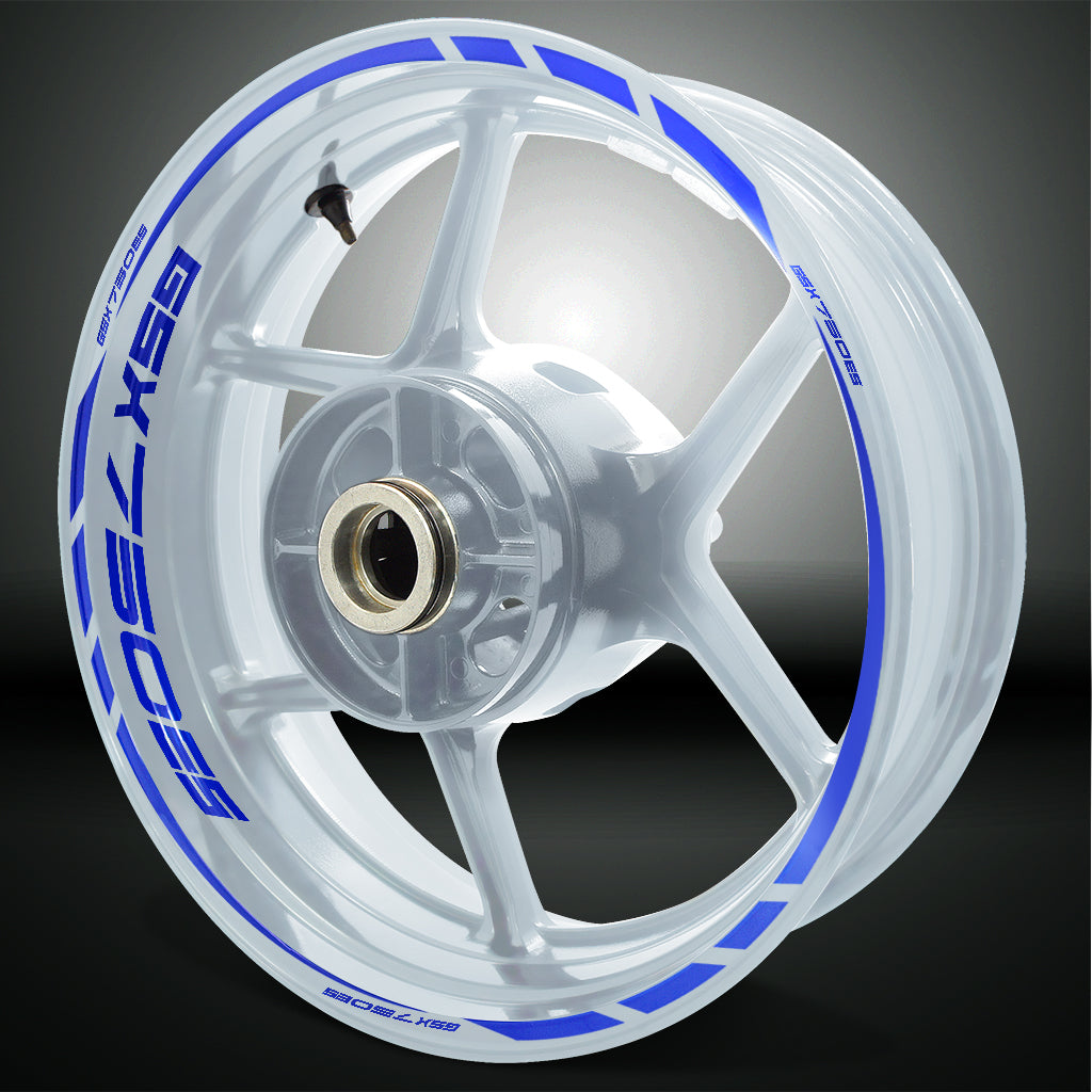 Motorcycle Rim Wheel Decal Accessory Sticker for Suzuki GSX 750ES
