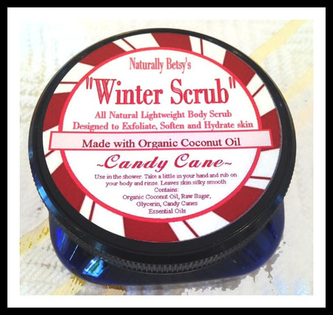 "Winter Scrub ""Candy Cane"""
