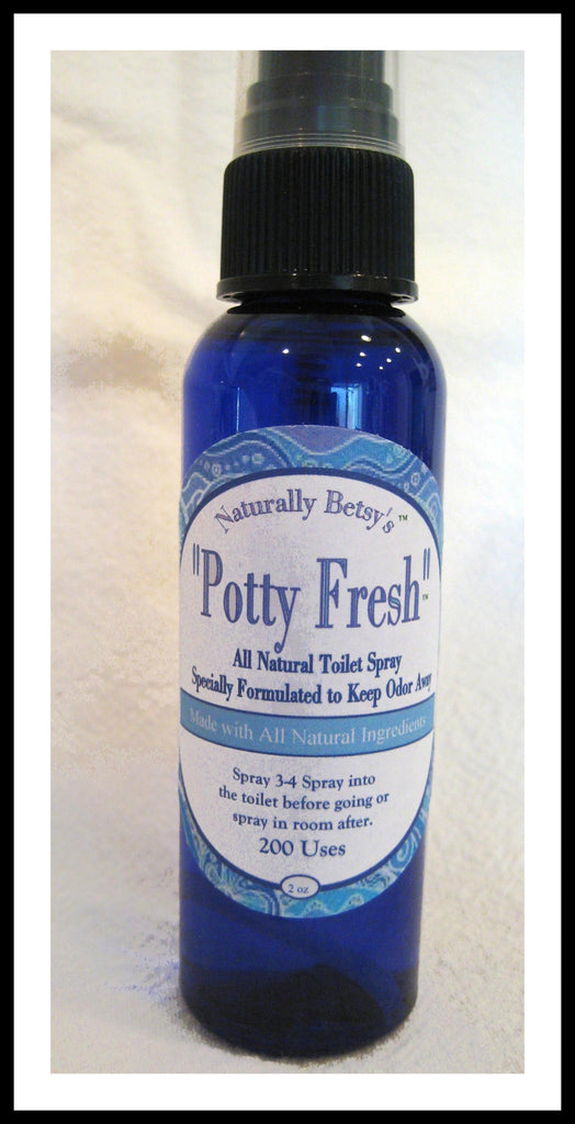 """Potty Fresh"" All Natural Toilet and Bathroom Spray"
