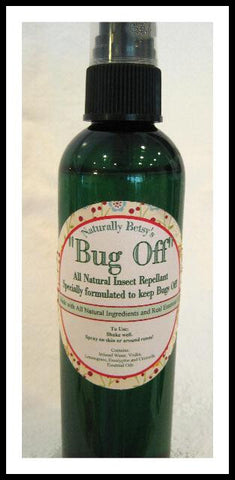 """Bug Off"" All Natural Herbal Insect Repellant"