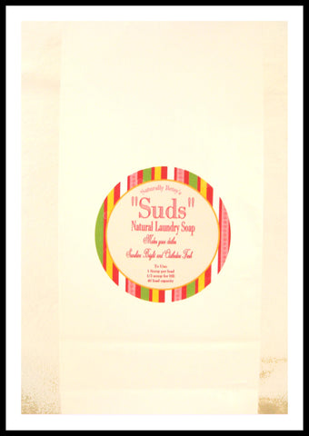 """Suds"" All Natural Laundry Soap"