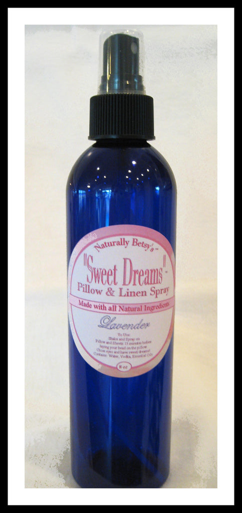 """Sweet Dreams"" Pillow and Linen Spray"