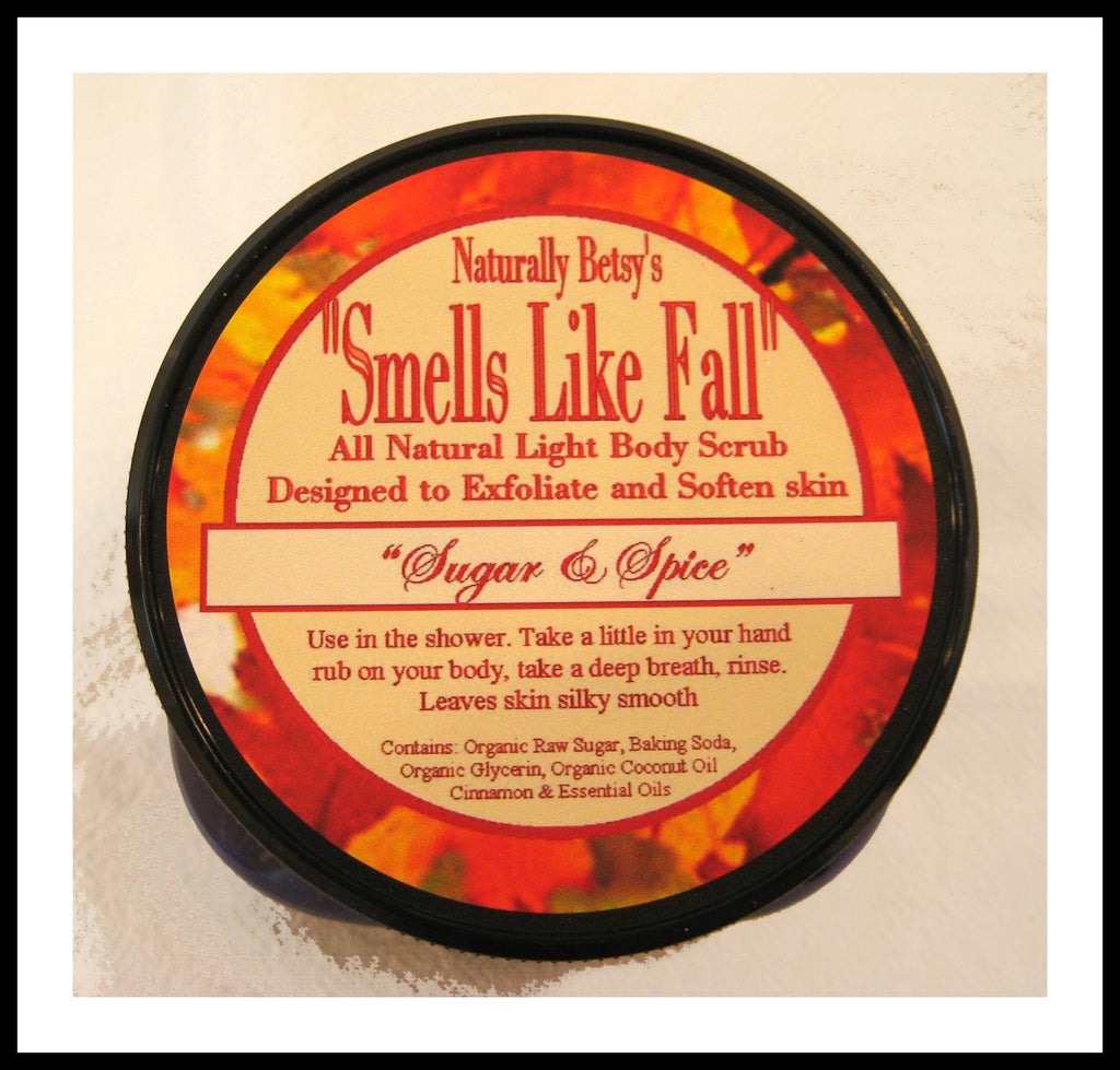 """Smells Like Fall"" Body Scrub"