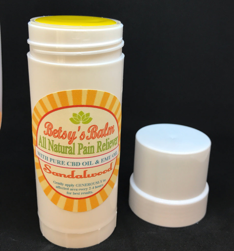 Betsy's Balm All Natural Pain Reliever Stick