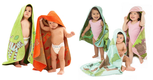 Baby & Toddler Hooded Towels
