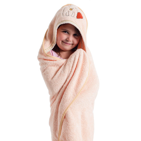 Baby & Toddler Hooded Towel: Woodland Collection (Busy Beaver) - Breganwood Organics - 2