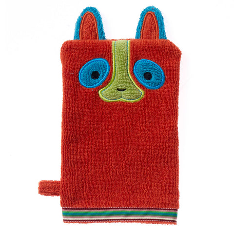 Wash Mitt: Rainforest Collection -Happy Lemur