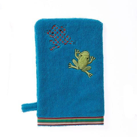 Wash Mitt: Rainforest Collection -Silly Frog