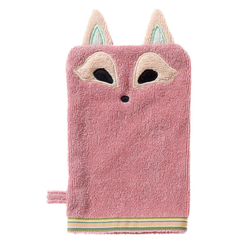 Wash Mitt: Woodland Collection -Playful Fox