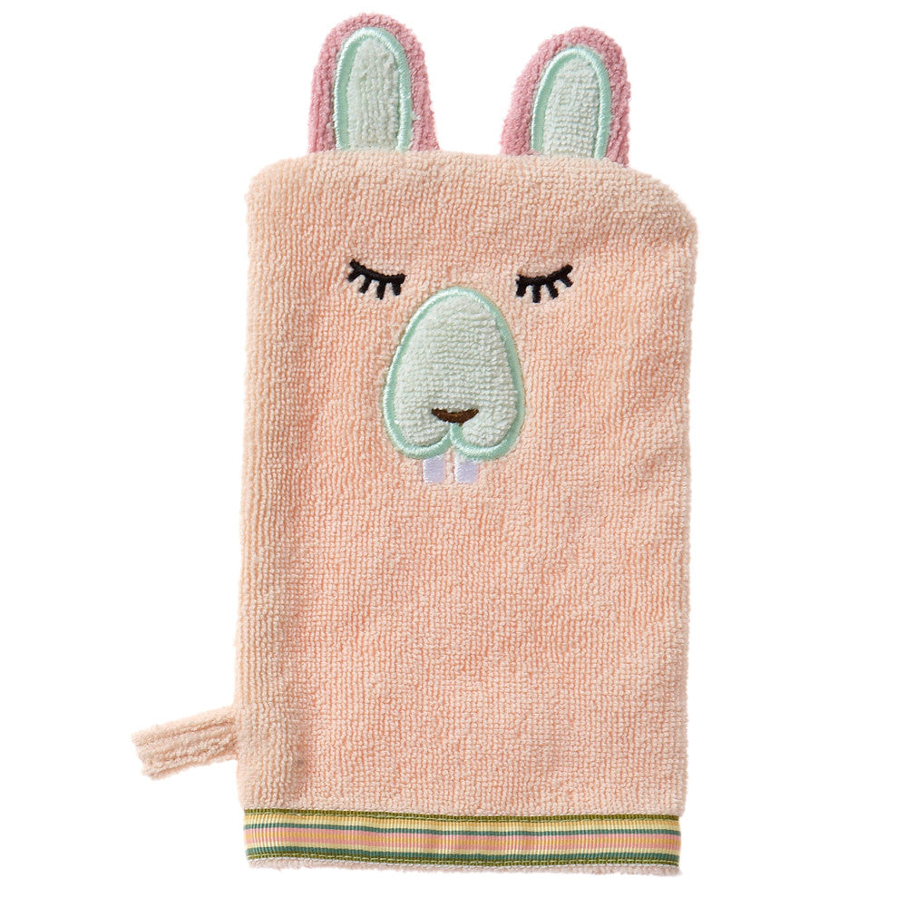 Baby Washcloth, The Woodland Collection Busy Beaver - Breganwood Organics - 3