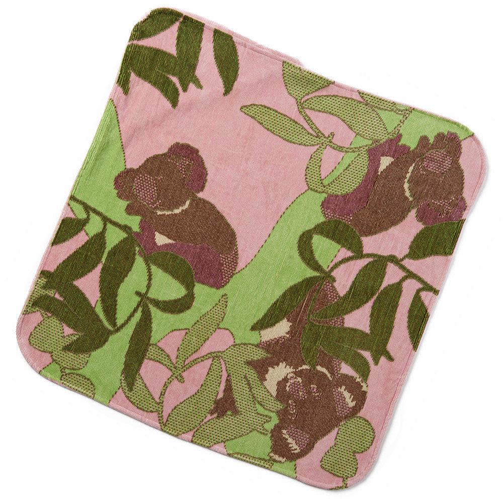 Baby & Toddler Hooded Towel: Outback Collection (Rose Koala) - Breganwood Organics - 3